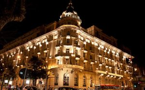 westin rome by night
